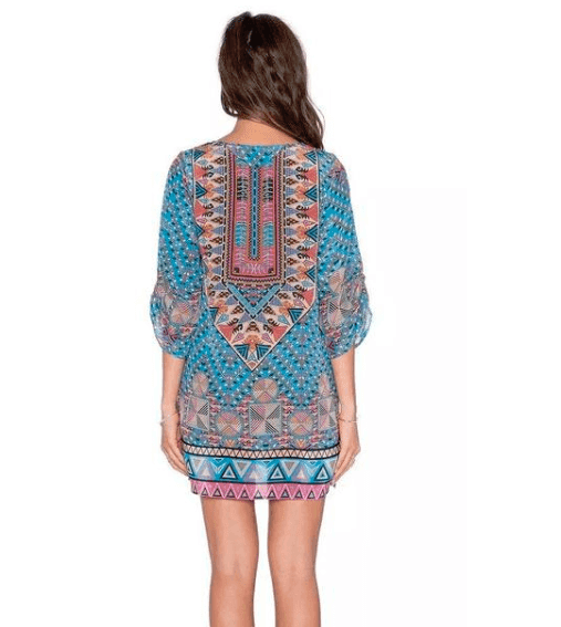 Bohemian Vintage Dress - Girly Got Style