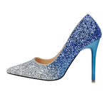 Glitter Pointed Toe Stilettos - Girly Got Style
