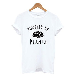 Powered By Plants Hipster Tee - Girly Got Style