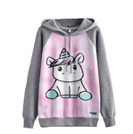 Adorable Unicorn Sweatshirt Hoodie - Girly Got Style