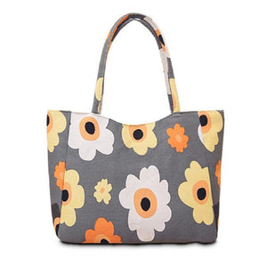 Waterproof Canvas Tote Handbag - Girly Got Style