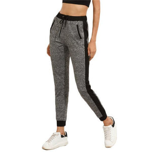 Drawstring Casual Pencil Pants Workout - Girly Got Style