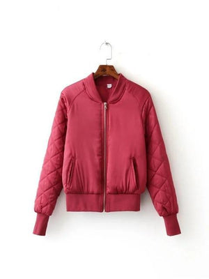 Bomber Aviator Jacket - Girly Got Style