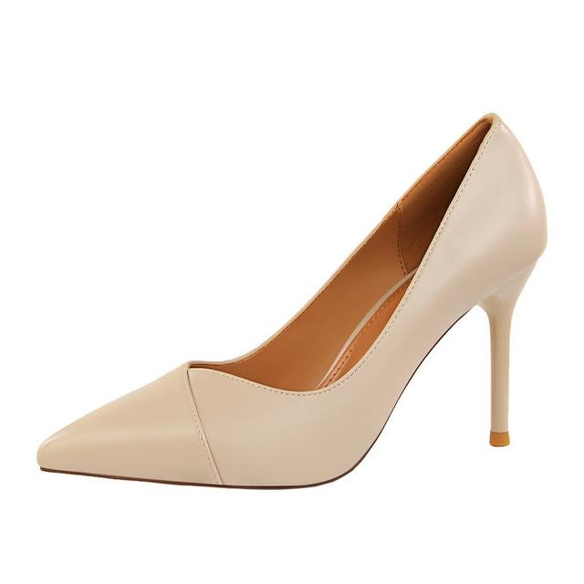 Classic Office Pointed Toe Heels - Girly Got Style