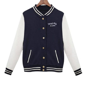Baseball College Jacket - Girly Got Style