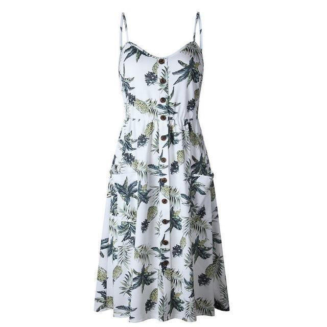 Floral Summer Dress - Girly Got Style