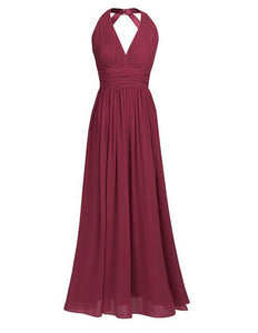 Ball Gown Halter Dress - Girly Got Style