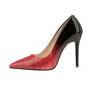 Glossy Classic Pointed Heels - Girly Got Style
