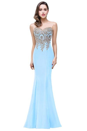 Mermaid Formal Dress - Girly Got Style