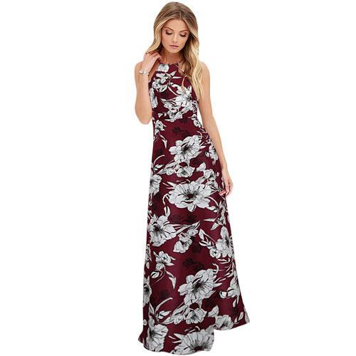 Summer Maxi Long Floral Dress - Girly Got Style