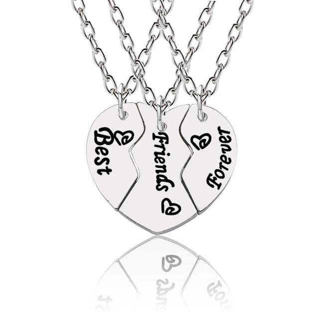 Best Friends Forever Necklace - Girly Got Style