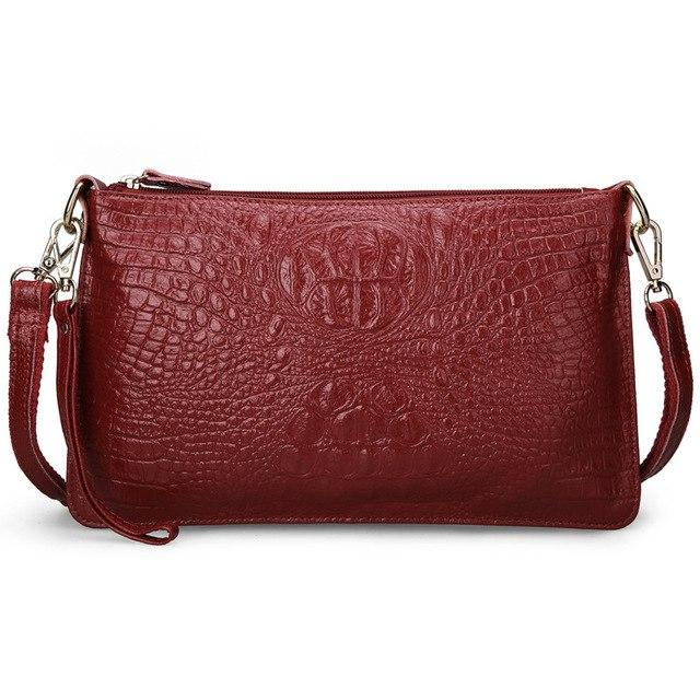 Crocodile Pattern Small Shoulder Bag - Girly Got Style