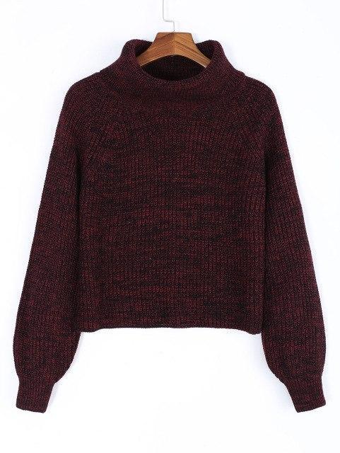 Turtleneck Knit Sweater - Girly Got Style
