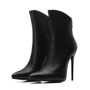 Winter Boots Super High Heels - Girly Got Style
