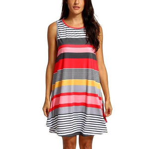 Casual Summer Party Dress - Girly Got Style