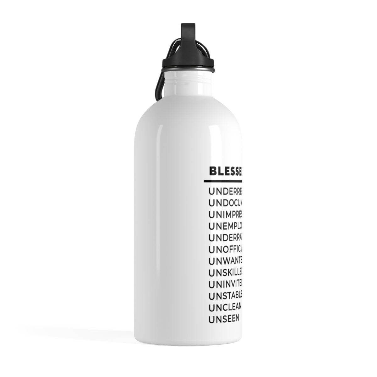 Blessed Are The Stainless Steel Water Bottle
