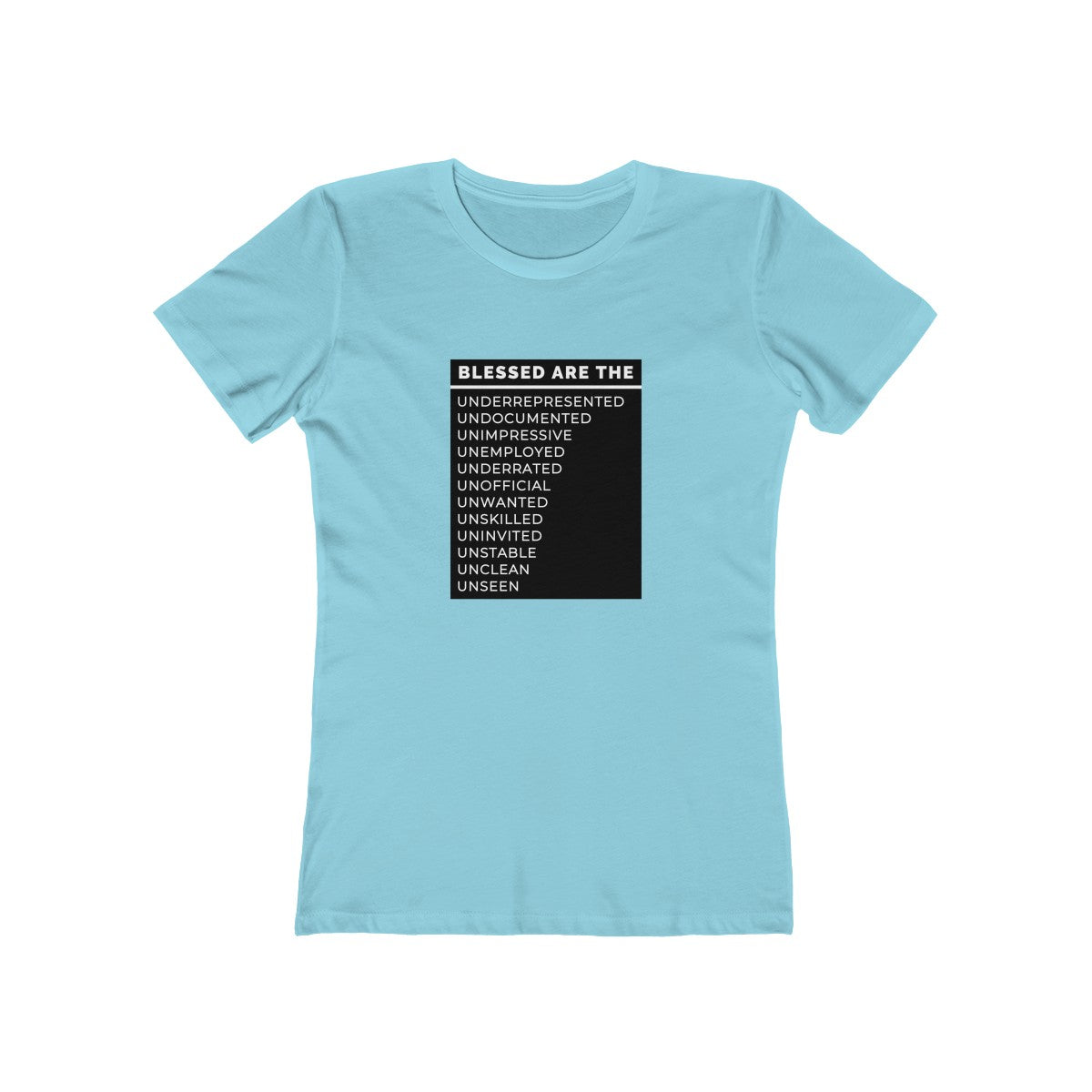 Blessed Are The Women's Tee