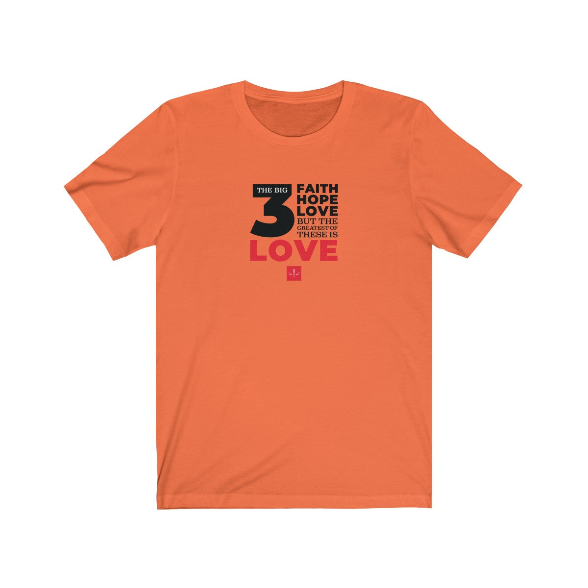 The Big 3 Unisex Jersey Short Sleeve Tee - LIGHT COLORS