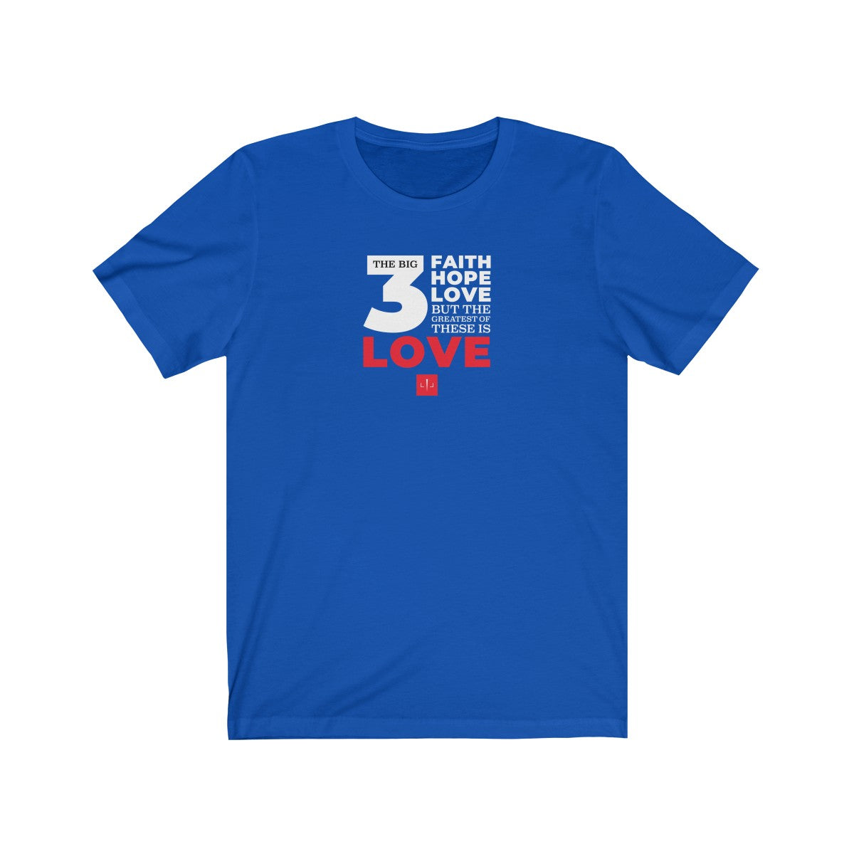 The Big 3 Unisex Jersey Short Sleeve Tee - DARK COLORS