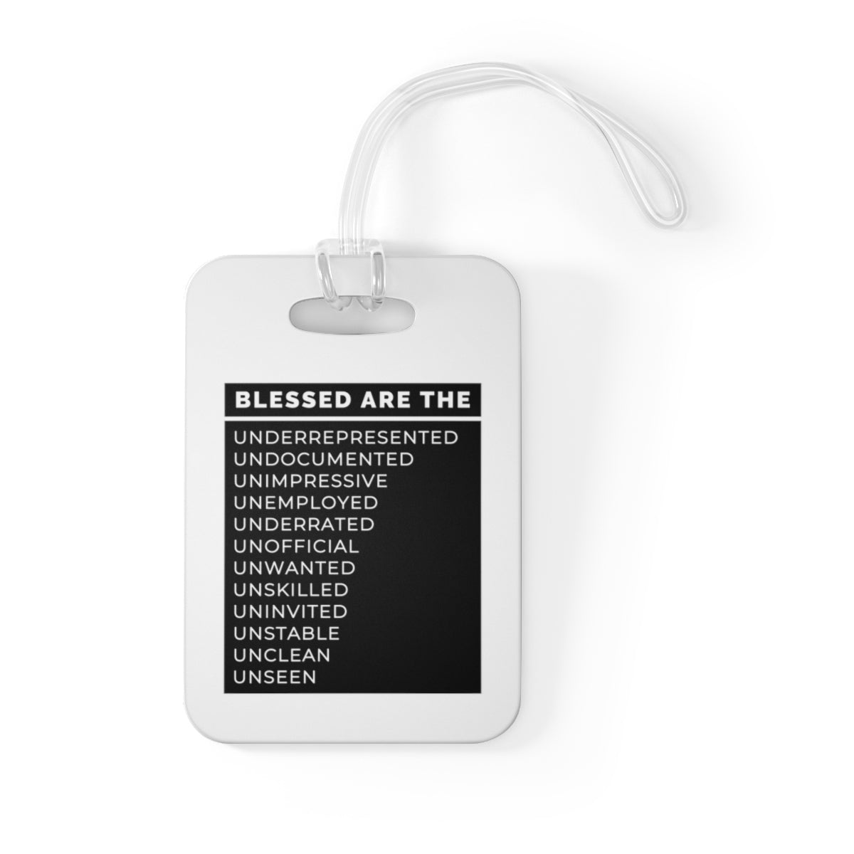 Blessed Are The Bag Tag