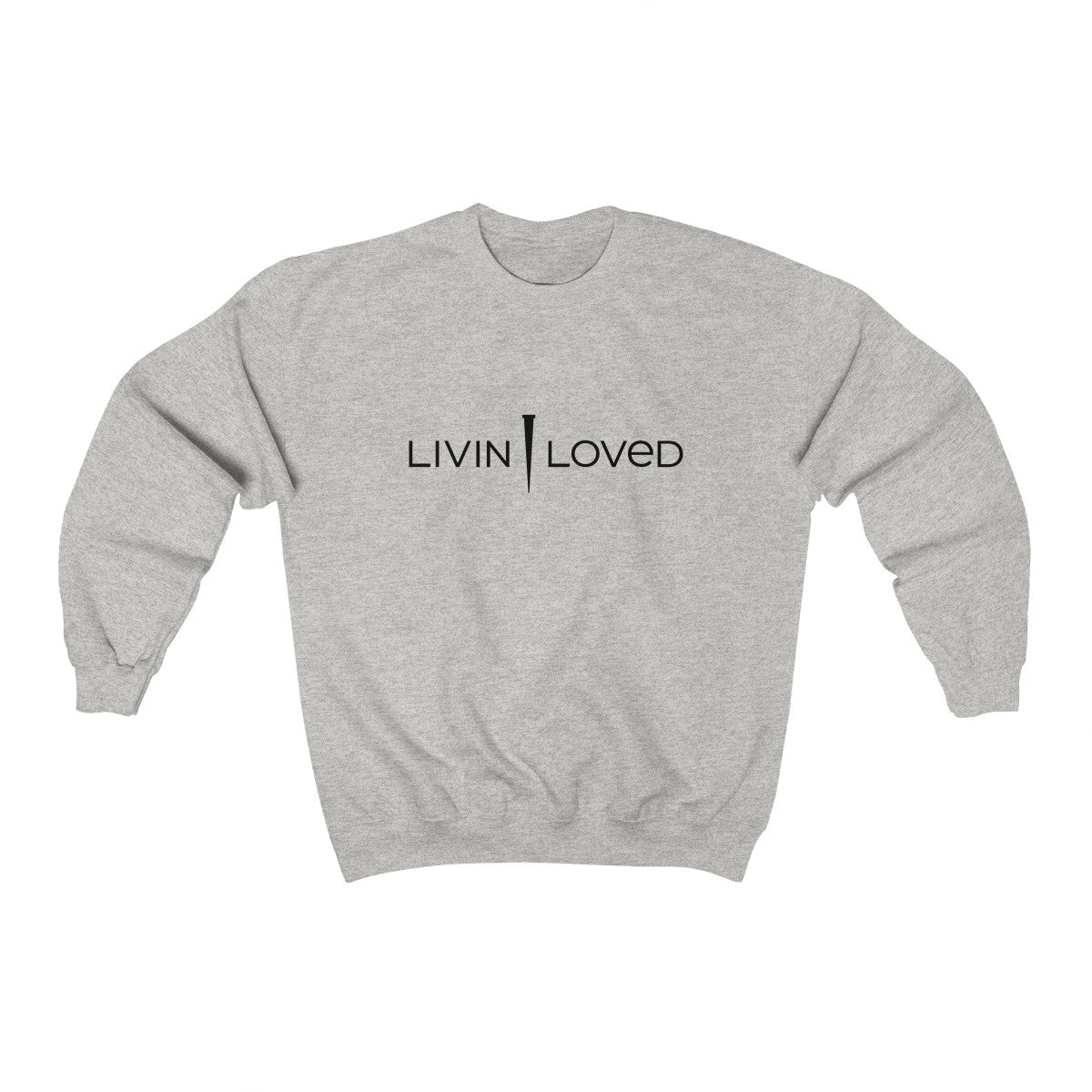 Livin Loved Unisex Heavy Blend™ Crewneck Sweatshirt