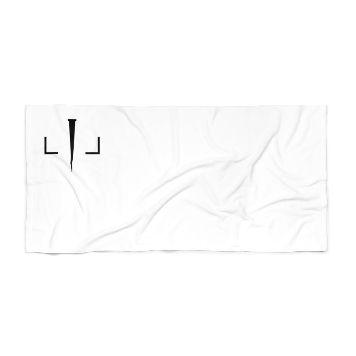 Livin Loved Logo Beach Towel