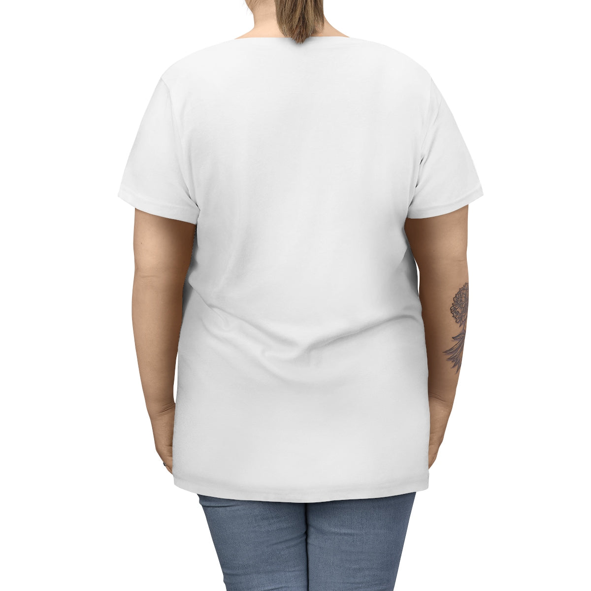 Jesus Came Women's Curvy Tee