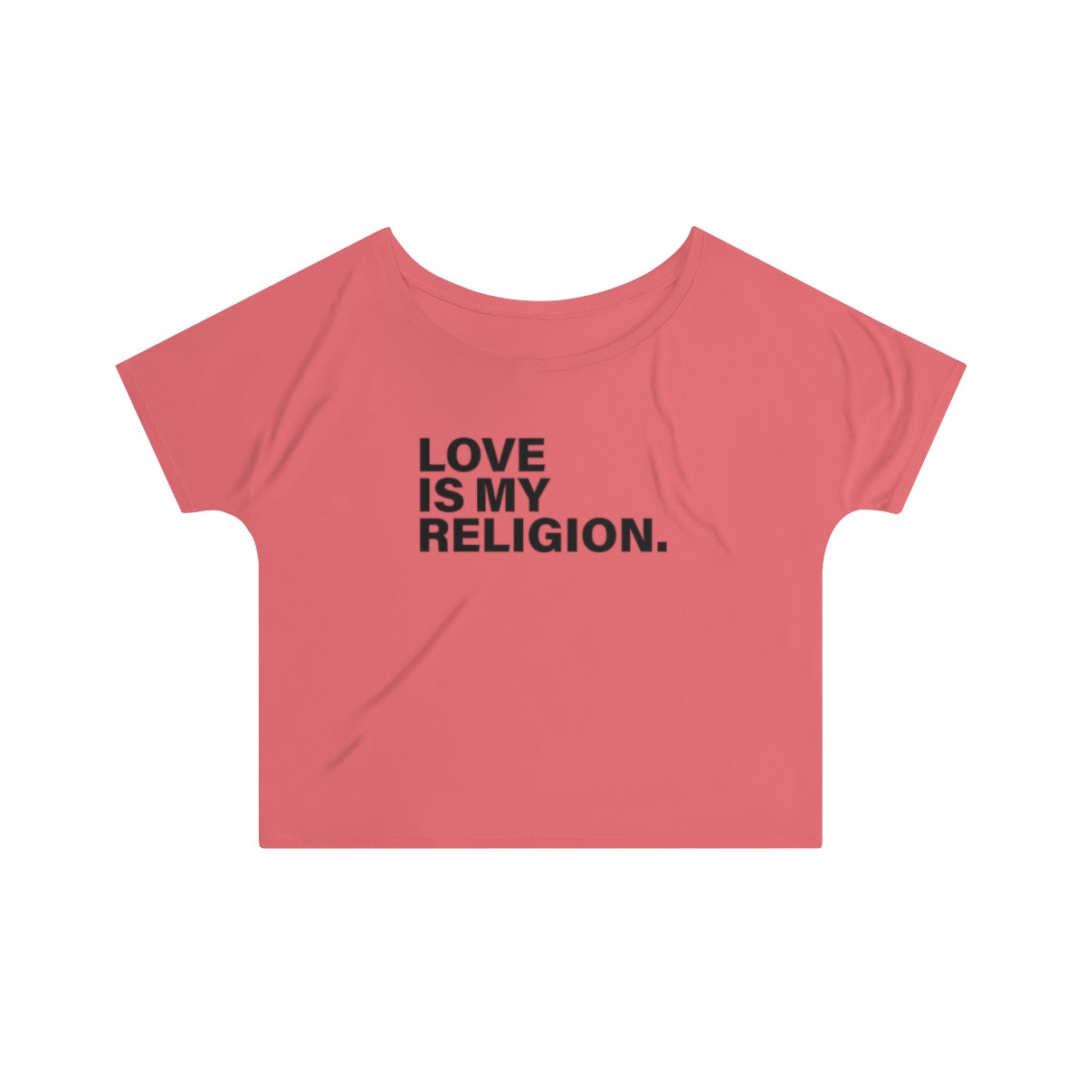 Love Is My Religion Women's Slouchy top - LIGHT COLORS