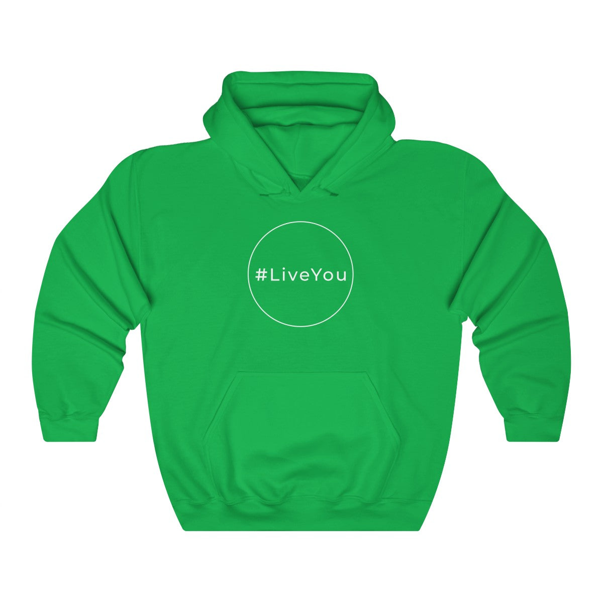 #LiveYou Unisex Heavy Blend™ Hooded Sweatshirt