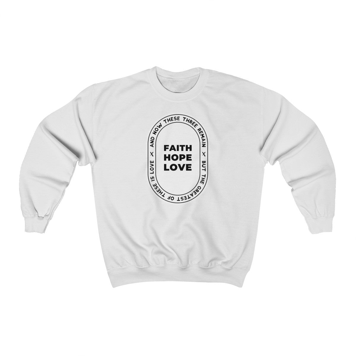 The Big 3 Unisex Heavy Blend™ Crewneck Sweatshirt