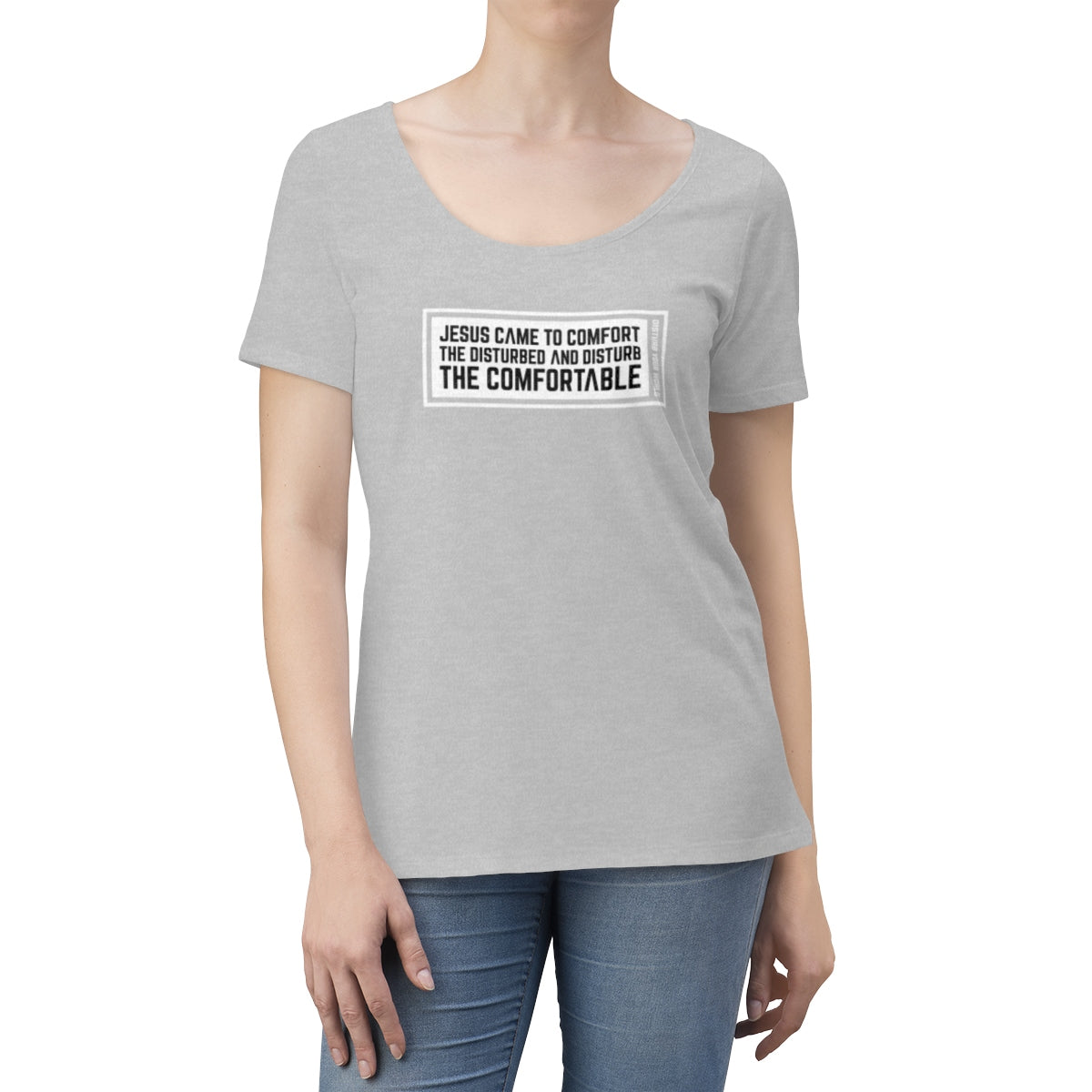 Jesus Came Women's Scoop Neck T-shirt