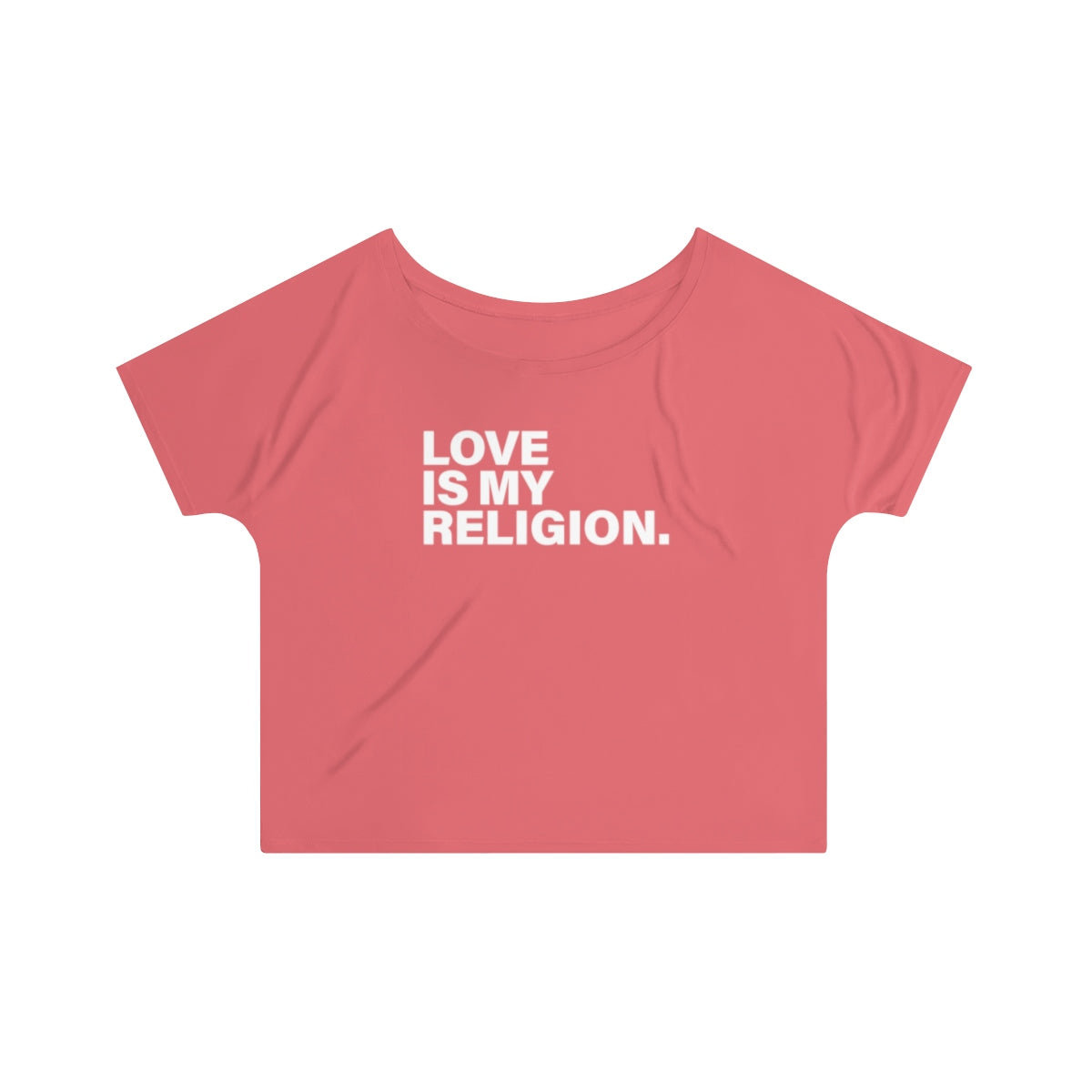 Love Is My Religion Women's Slouchy top - DARK COLORS