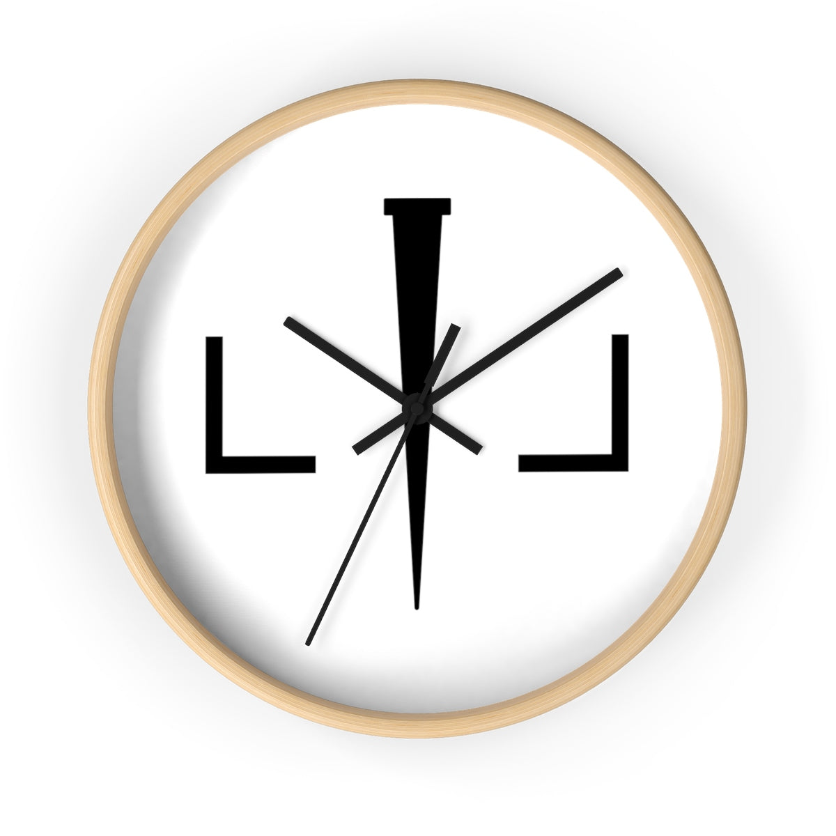 Livin Loved Logo Wall clock
