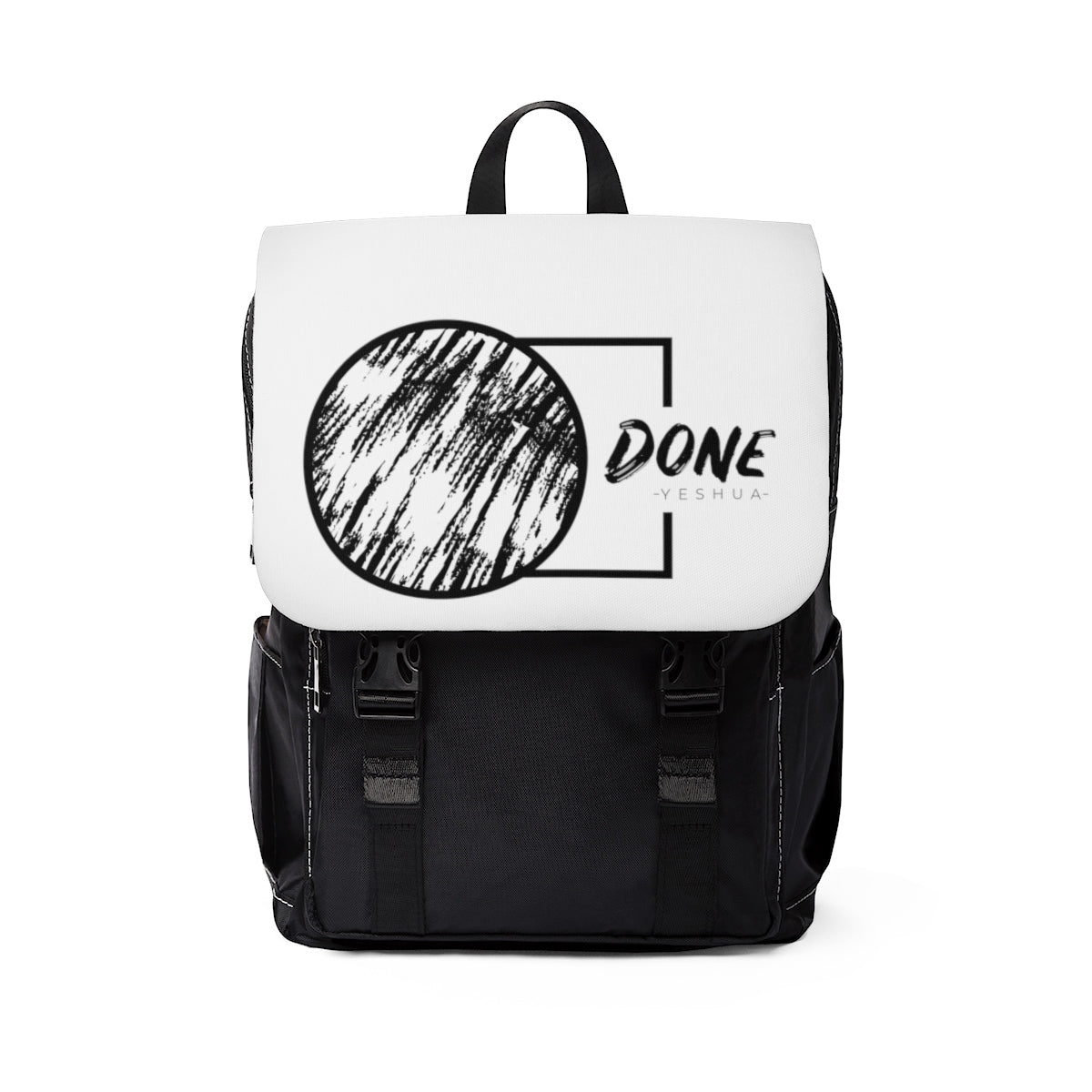 Done By Yeshua Unisex Casual Shoulder Backpack