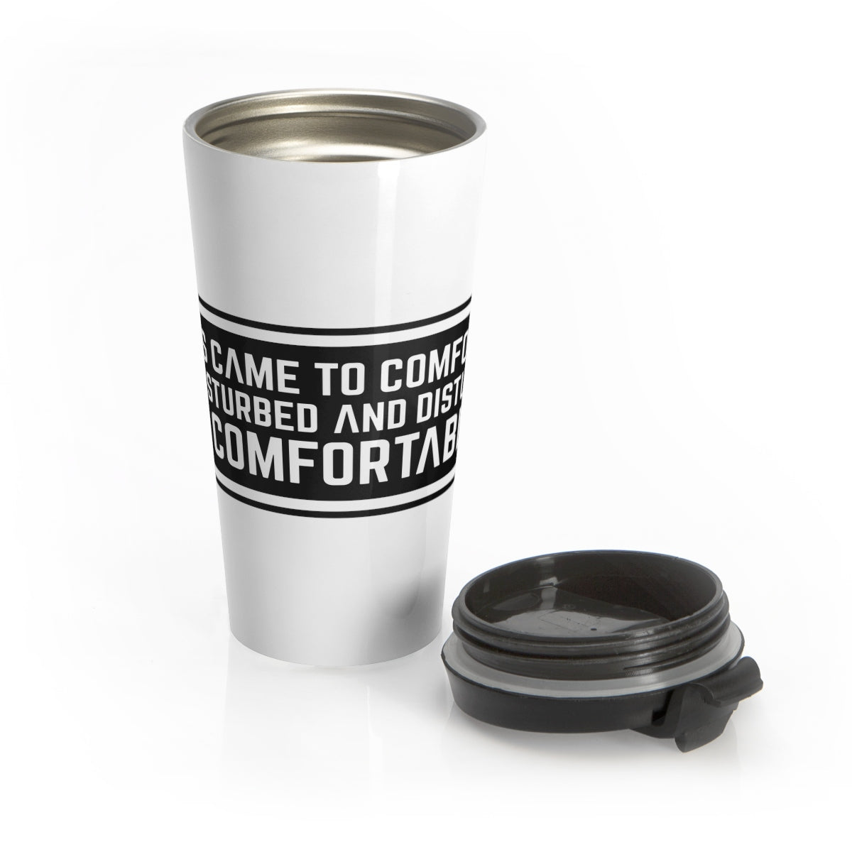 Jesus Came Stainless Steel Travel Mug