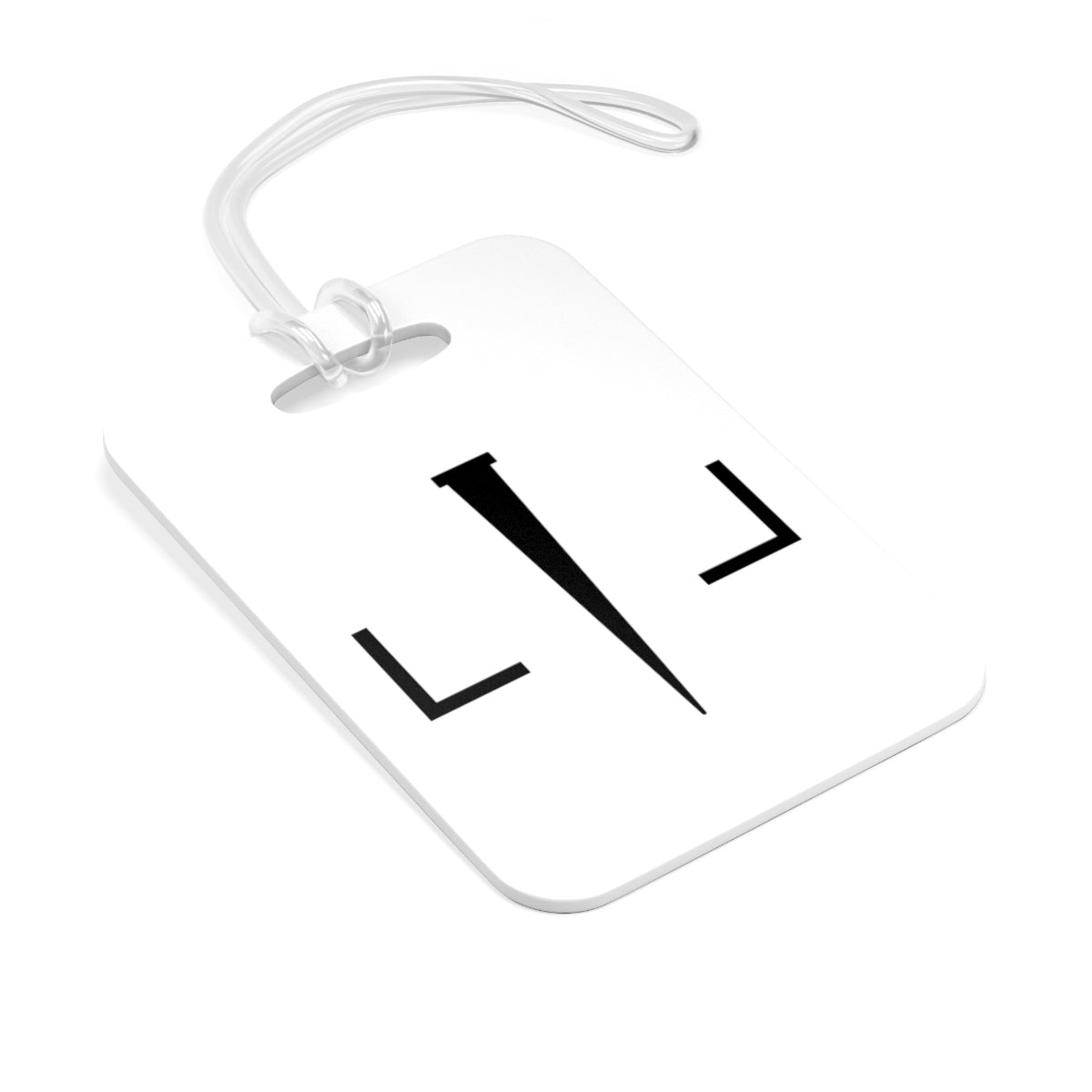 Livin Loved Logo Bag Tag