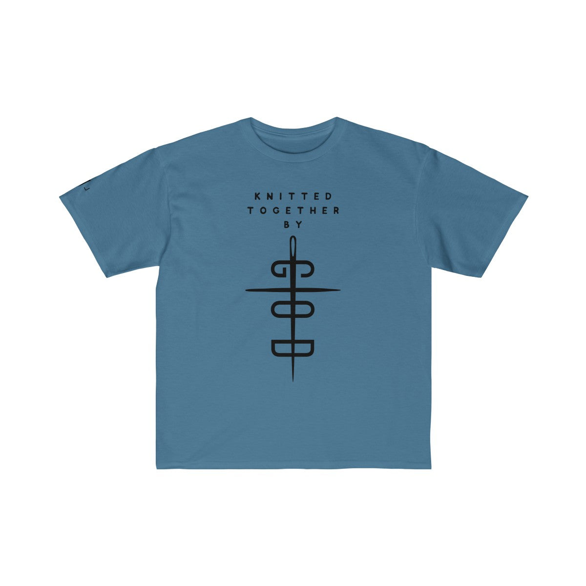 Knitted Together By God Boys Retail Fit Tee
