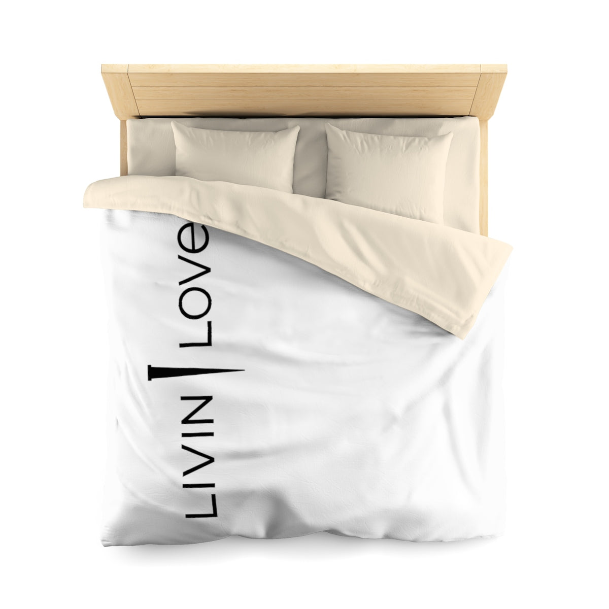Livin Loved Microfiber Duvet Cover