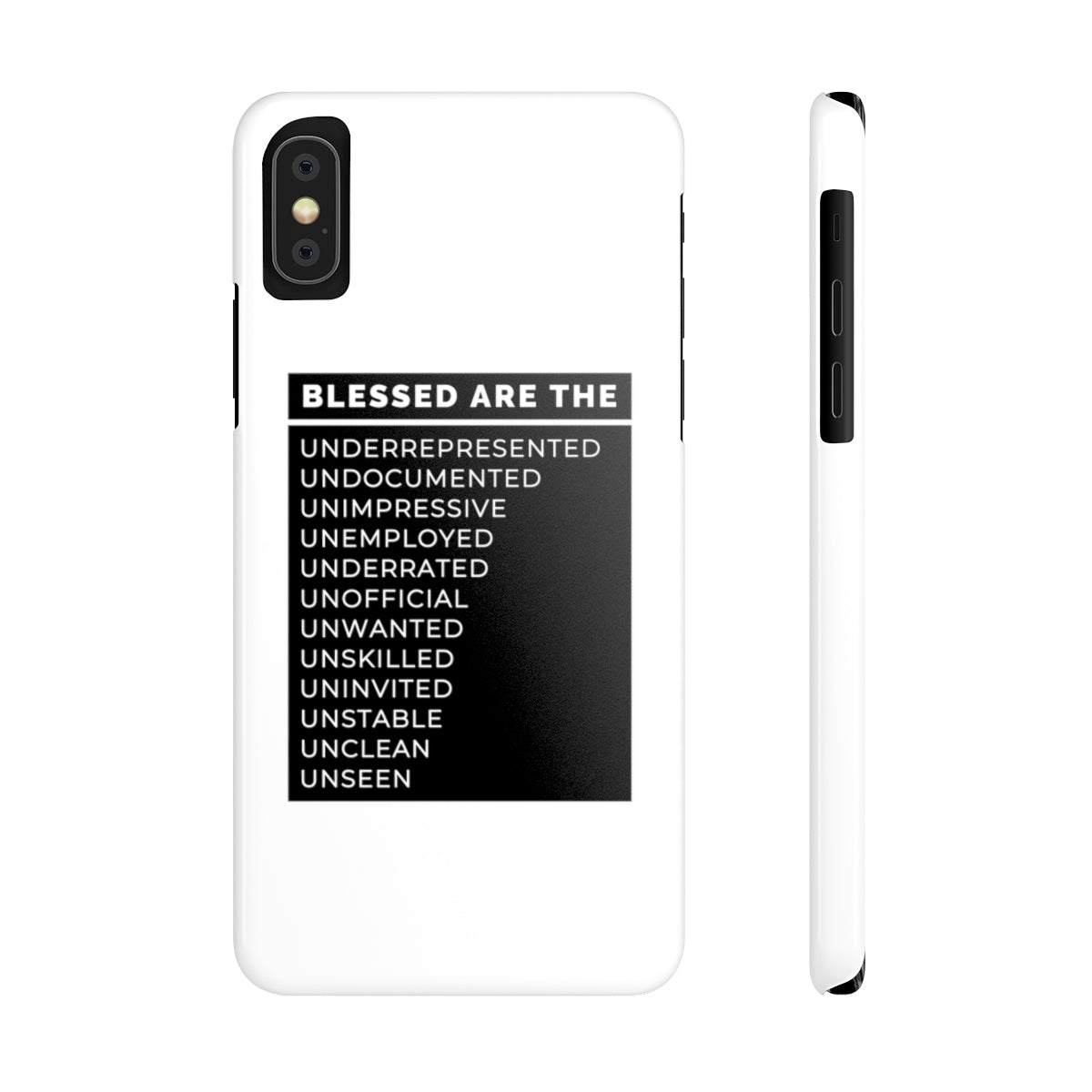 Blessed Are The Case Mate Slim Phone Cases