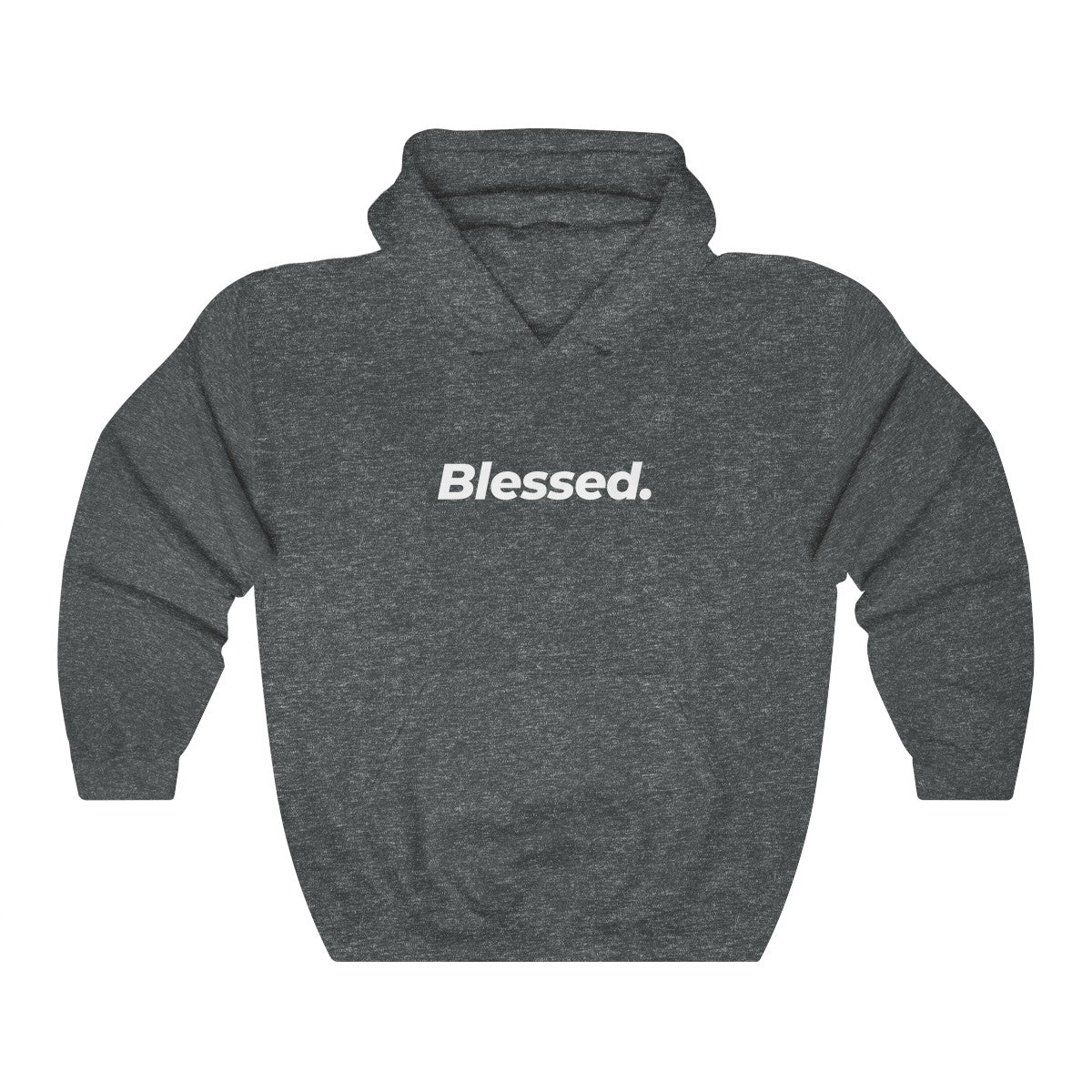 Blessed Are The Unisex Heavy Blend™ Hooded Sweatshirt - FRONT & BACK PRINT