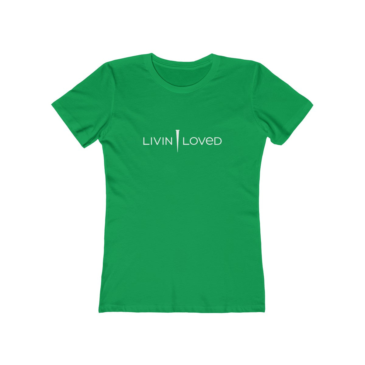 Livin Loved Women's The Boyfriend Tee - DARK COLORS