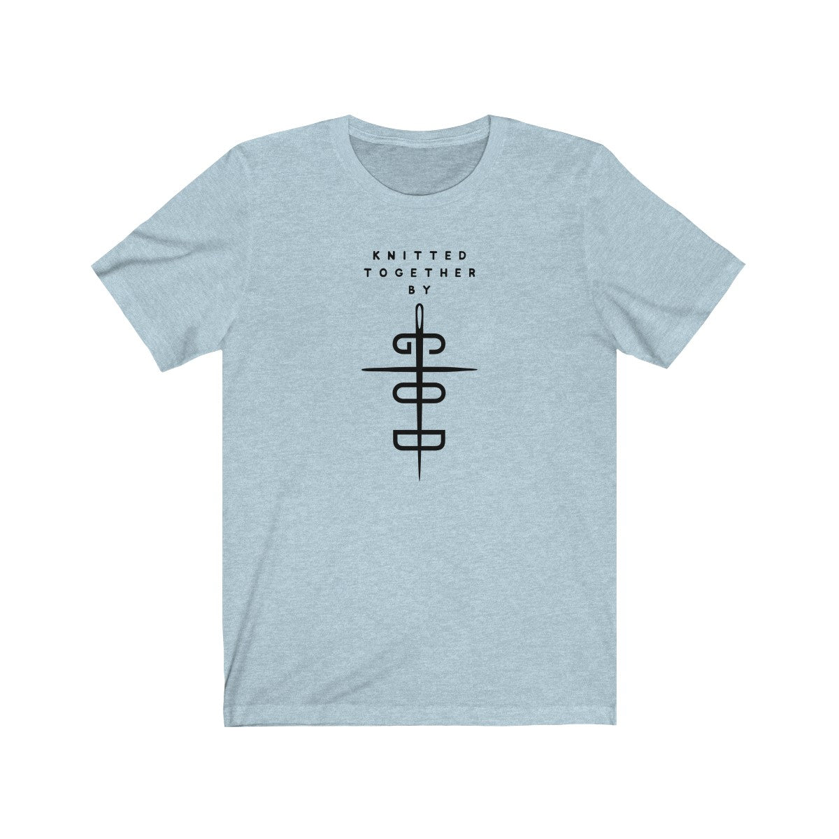 Knitted Together By God Unisex Jersey Short Sleeve Tee