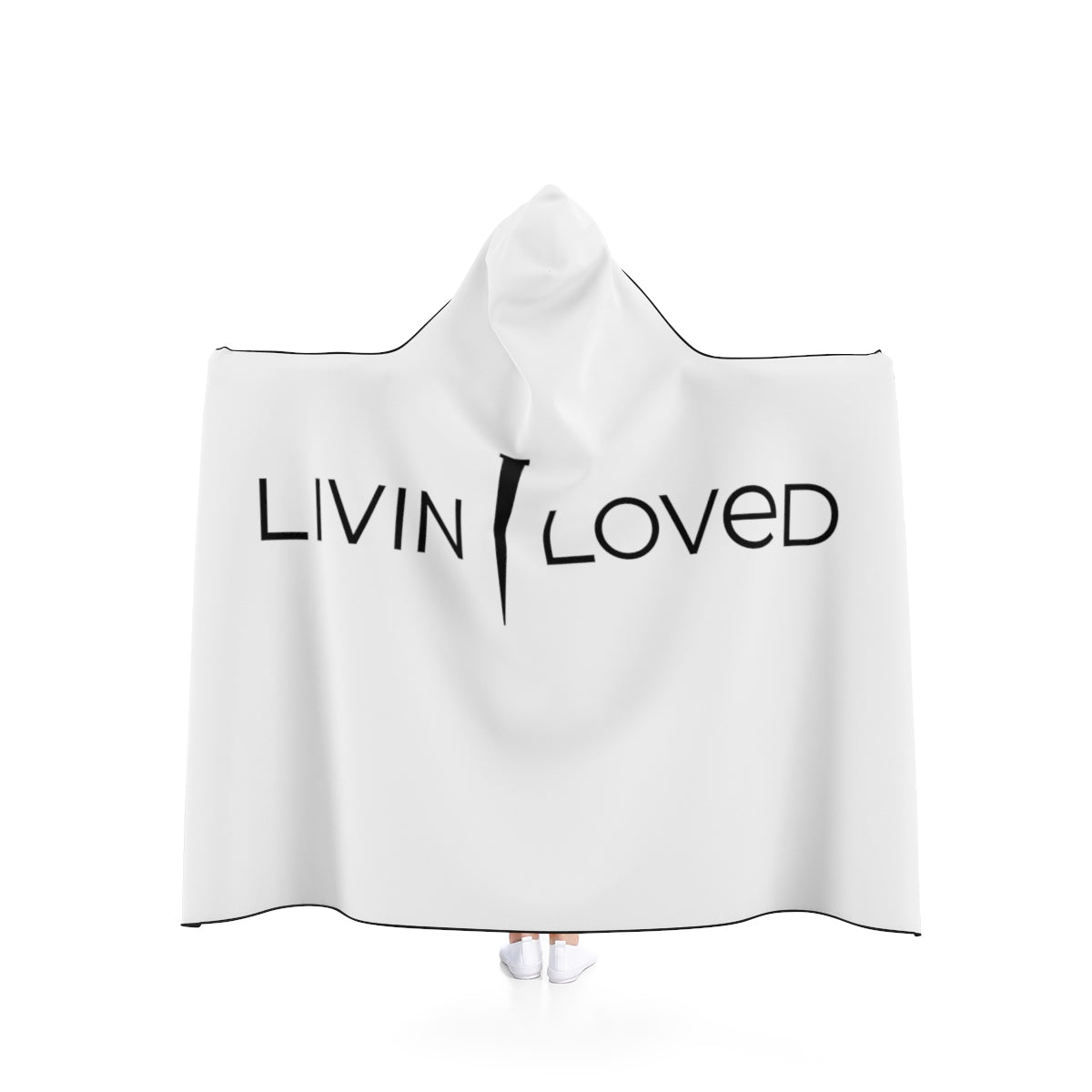 Livin Loved Hooded Blanket