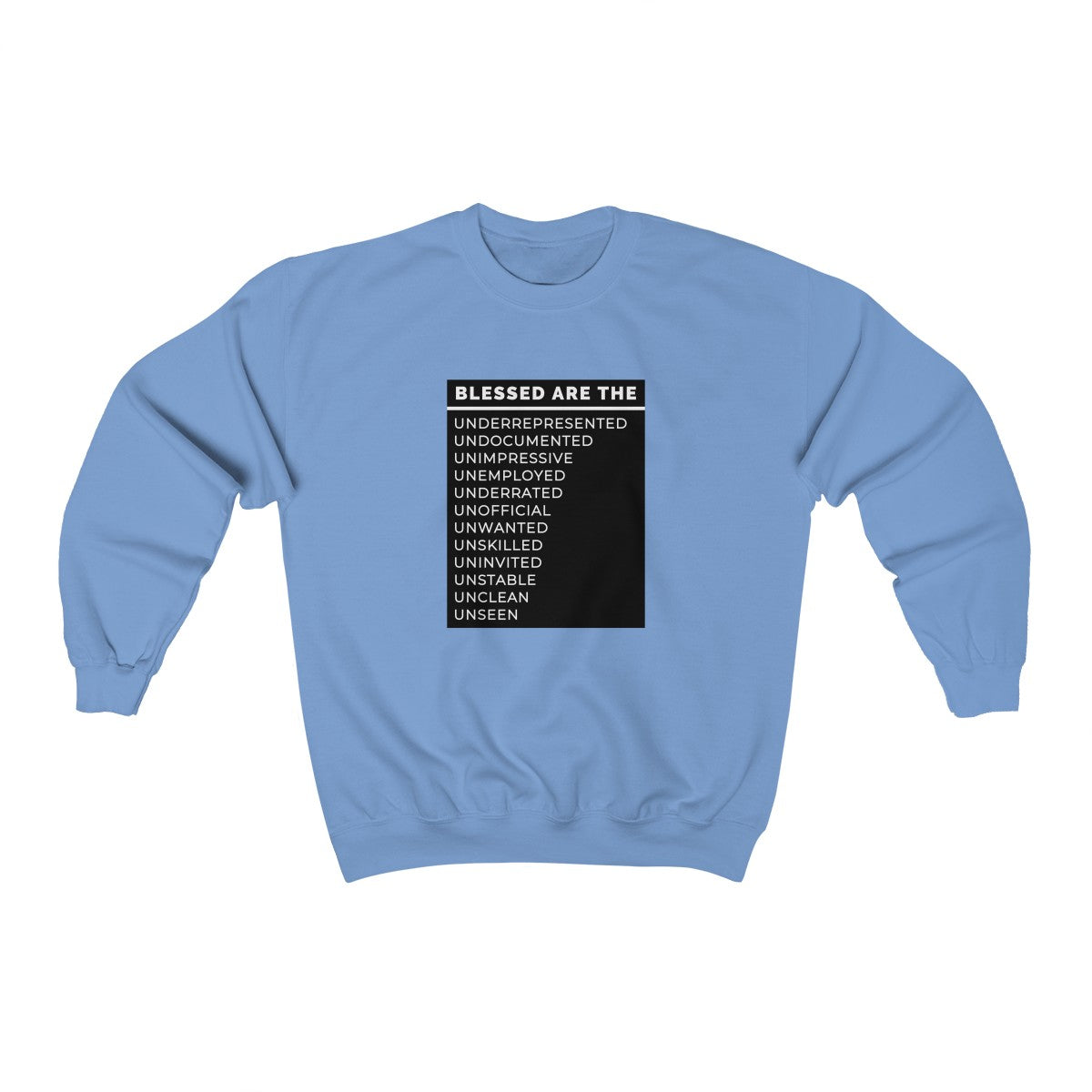 Blessed Are The Unisex Heavy Blend™ Crewneck Sweatshirt