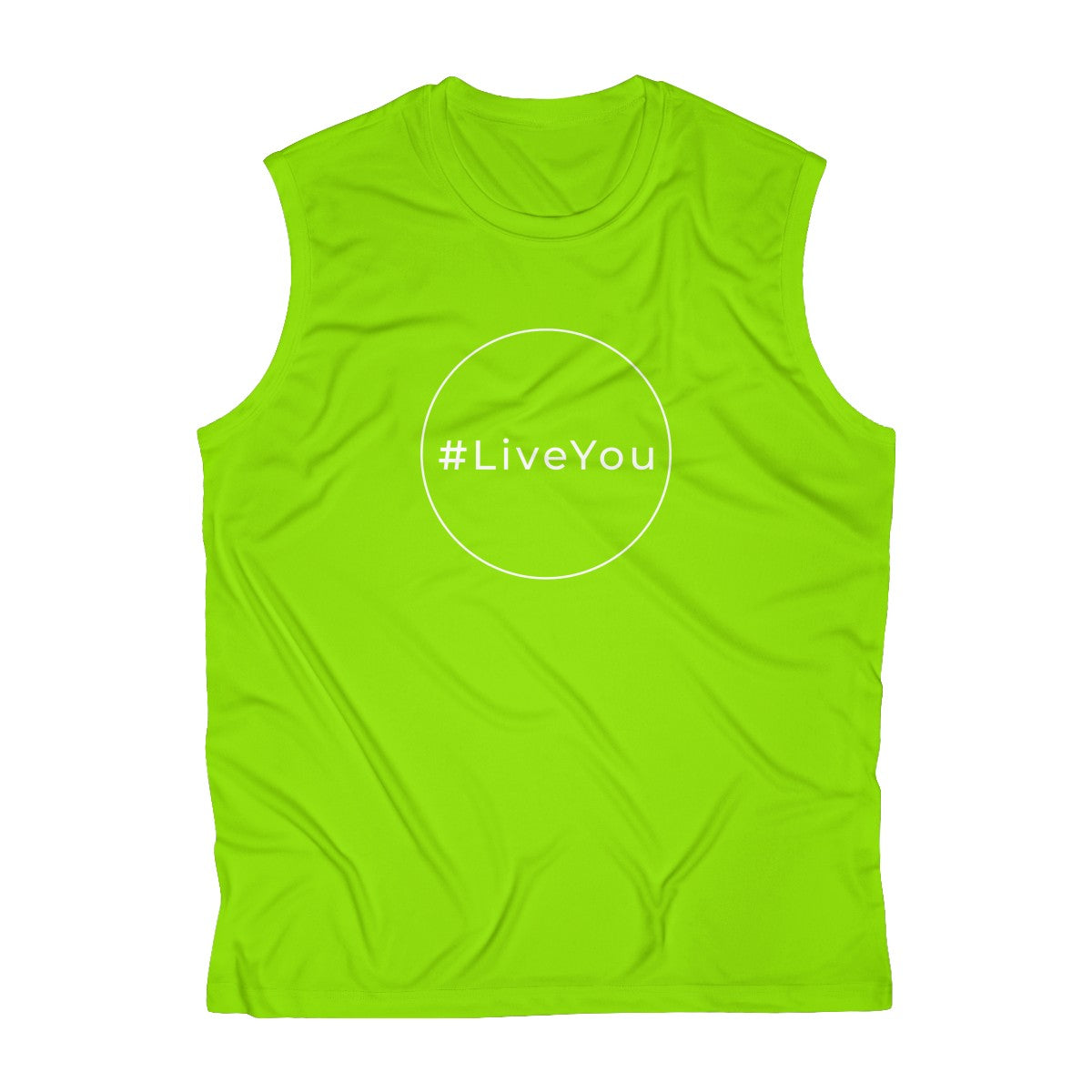 #LiveYou Men's Sleeveless Performance Tee