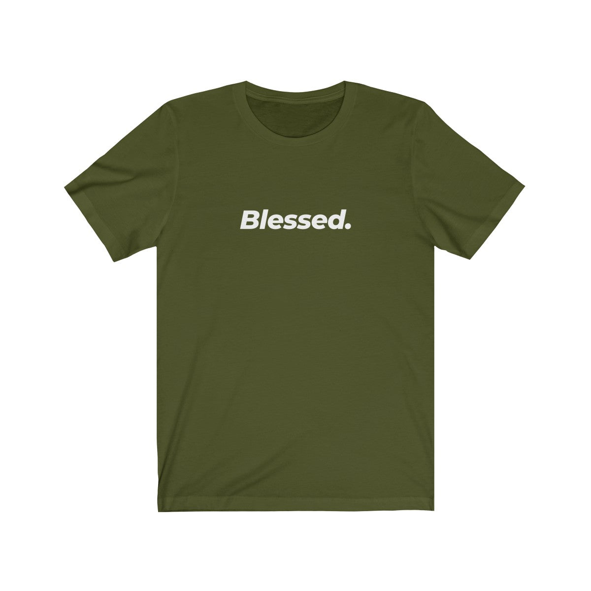 Blessed Are The Unisex Jersey Short Sleeve Tee - FRONT & BACK PRINT
