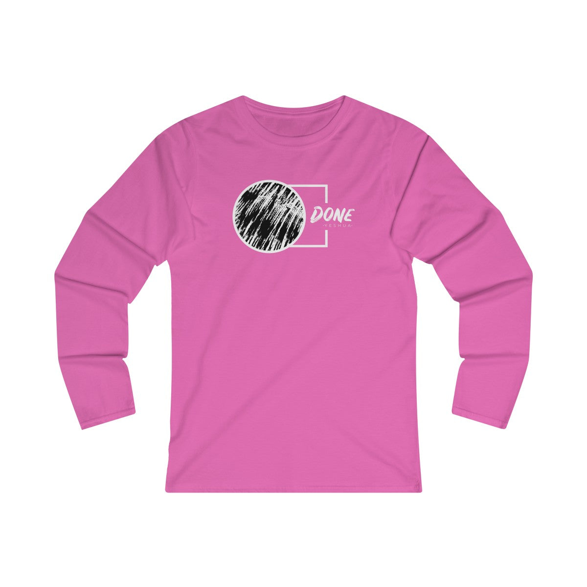 Done By Yeshua Women's Fitted Long Sleeve Tee