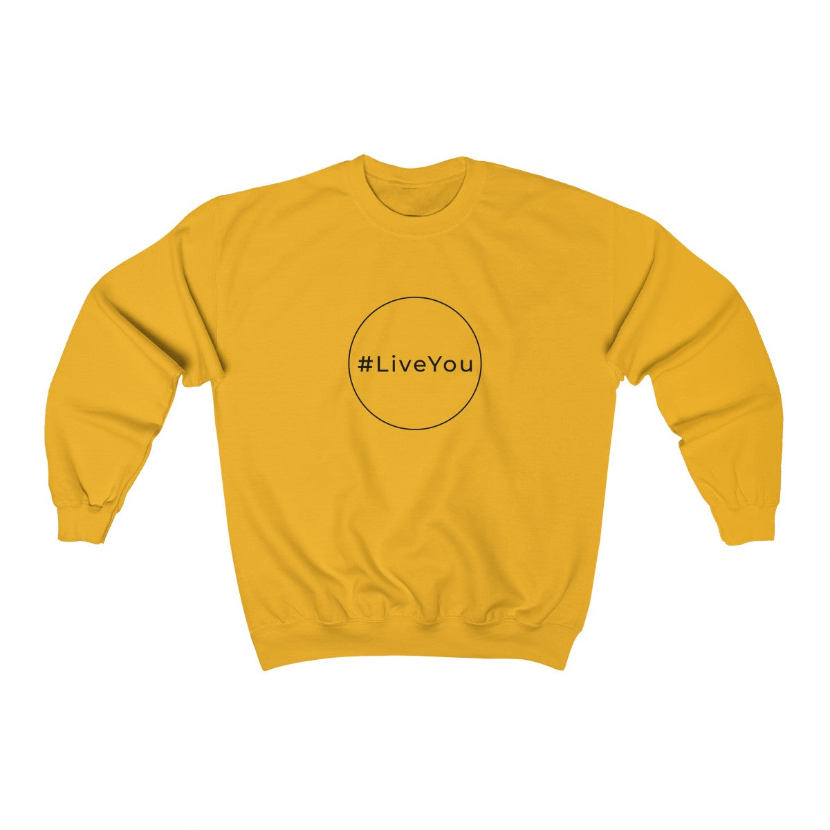 #Live You Unisex Heavy Blend™ Crewneck Sweatshirt