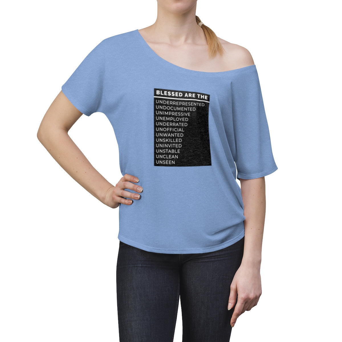 Blessed Are The Women's Slouchy top