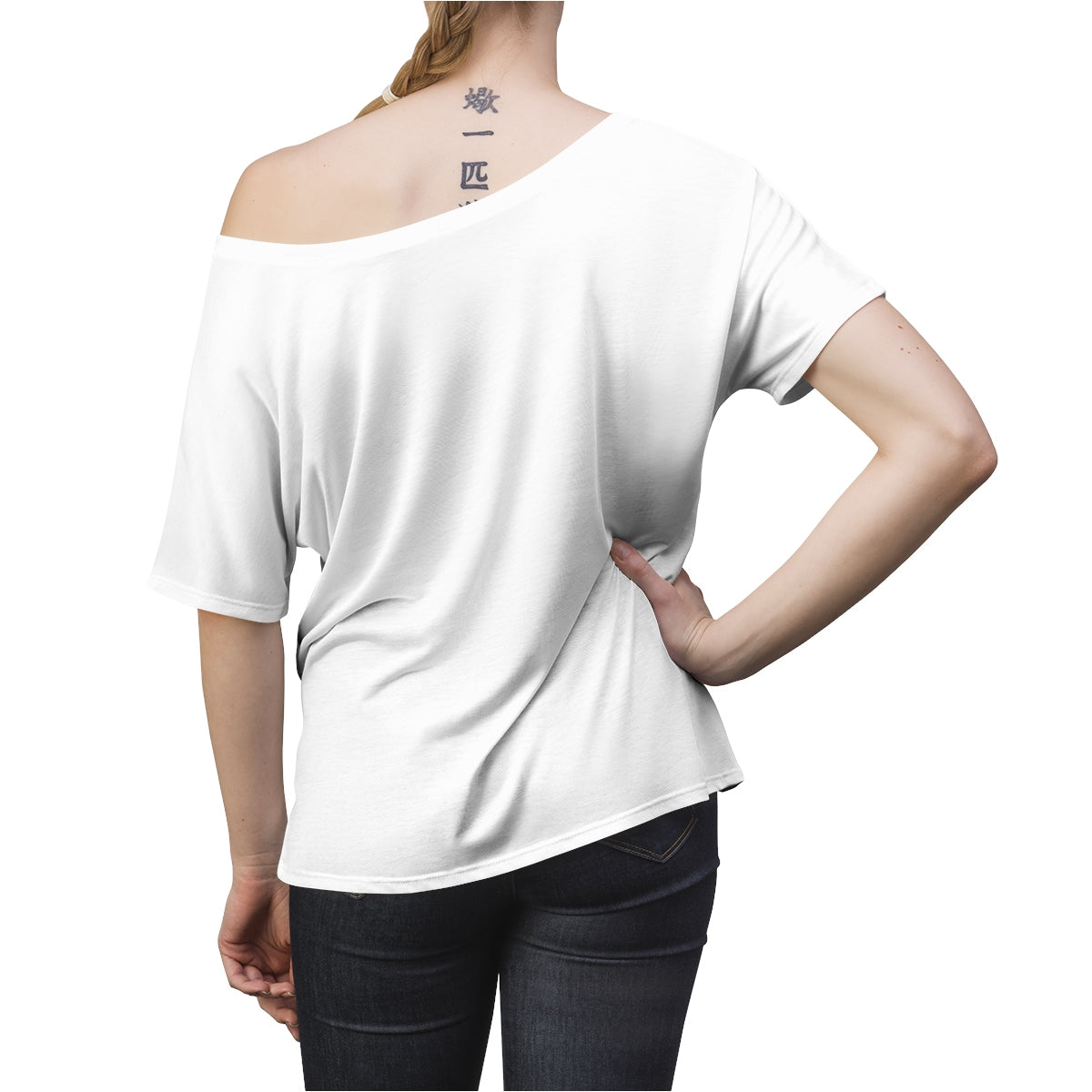 Jesus Came Women's Slouchy top